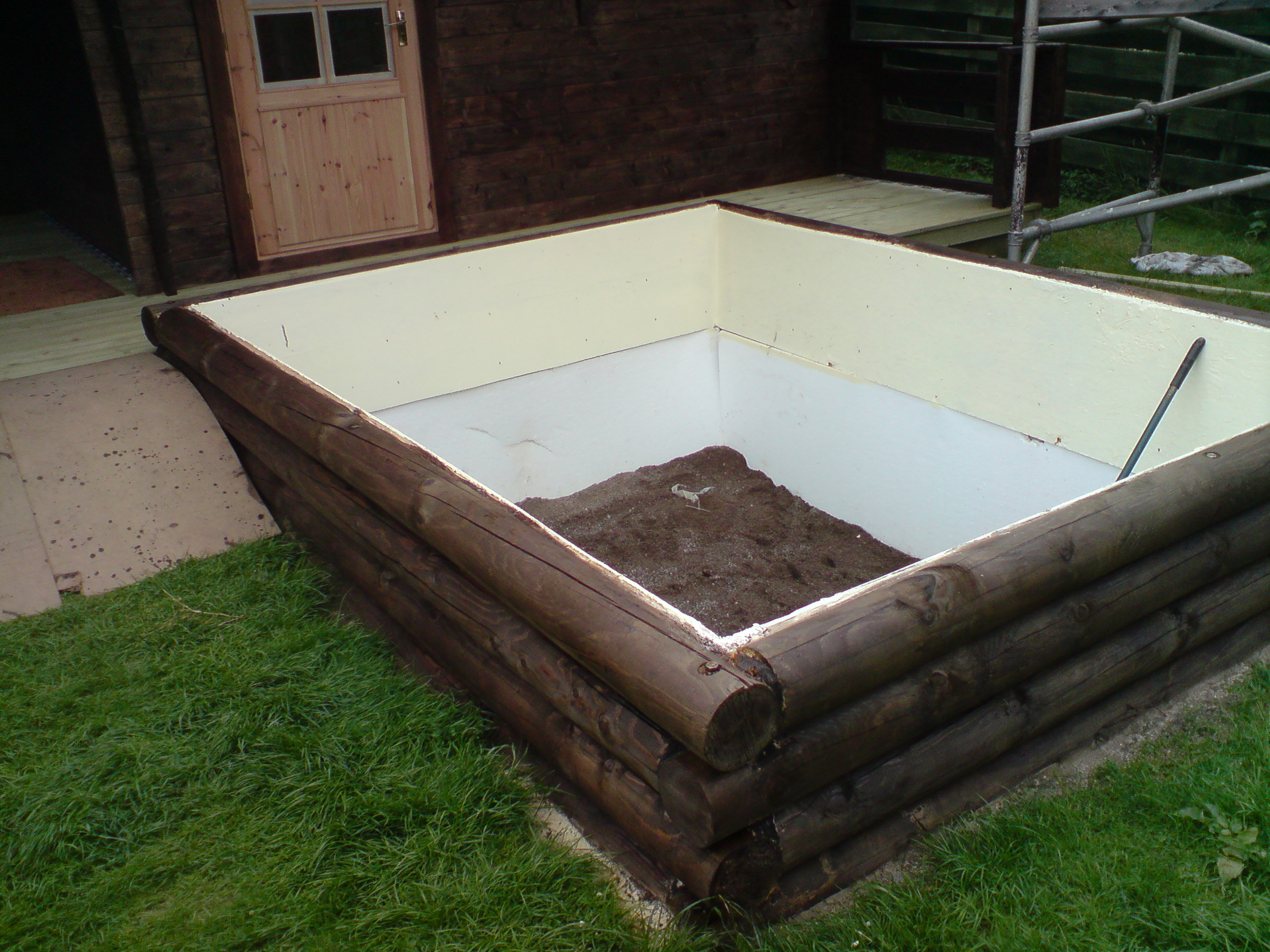 Fishkeeping Pre Constructed Raised Wooden Pond Forums Pond Help And Advice