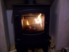 My lovely new wood burning stove