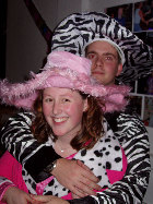 Me and Zoe at her 18th Birthday Party